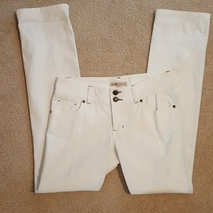 Straight Leg White Jean